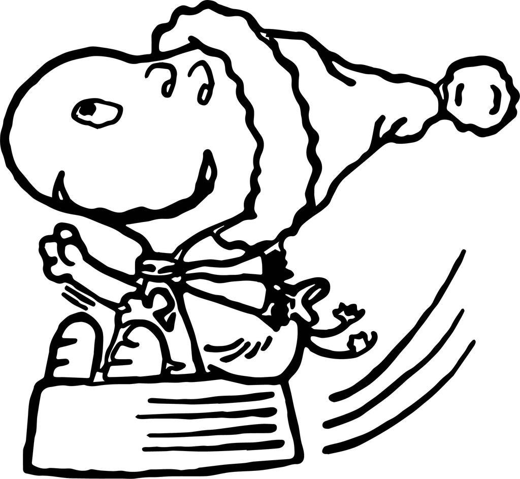 Snoopy And Woodstock Coloring Pages Colouring Lineart Free