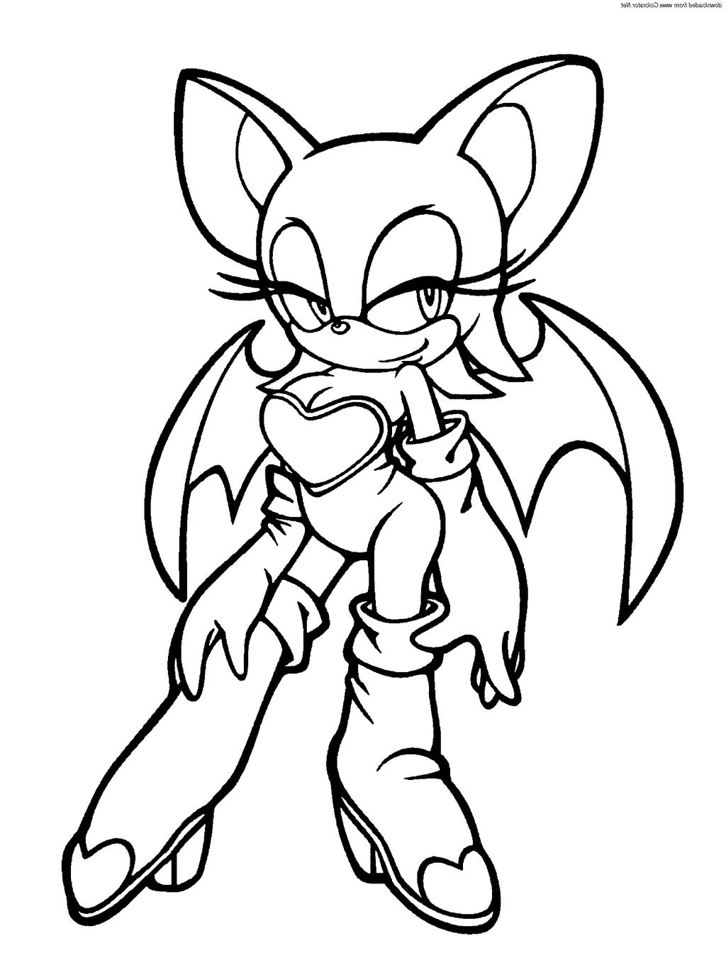 Sonic Girls - Free Coloring Pages