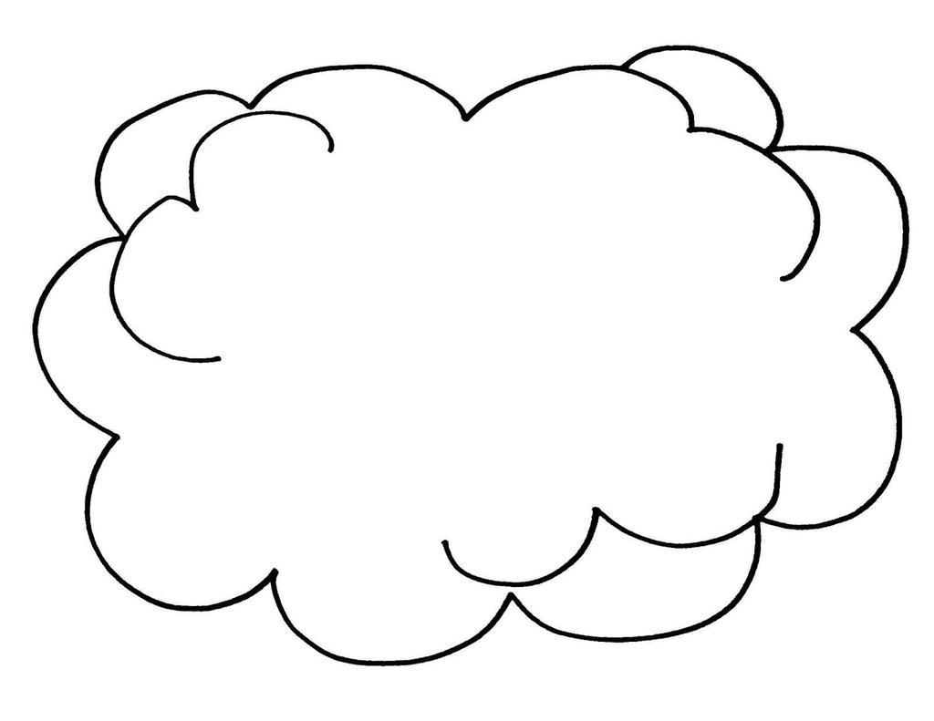 sun cloud coloring pages - photo#27