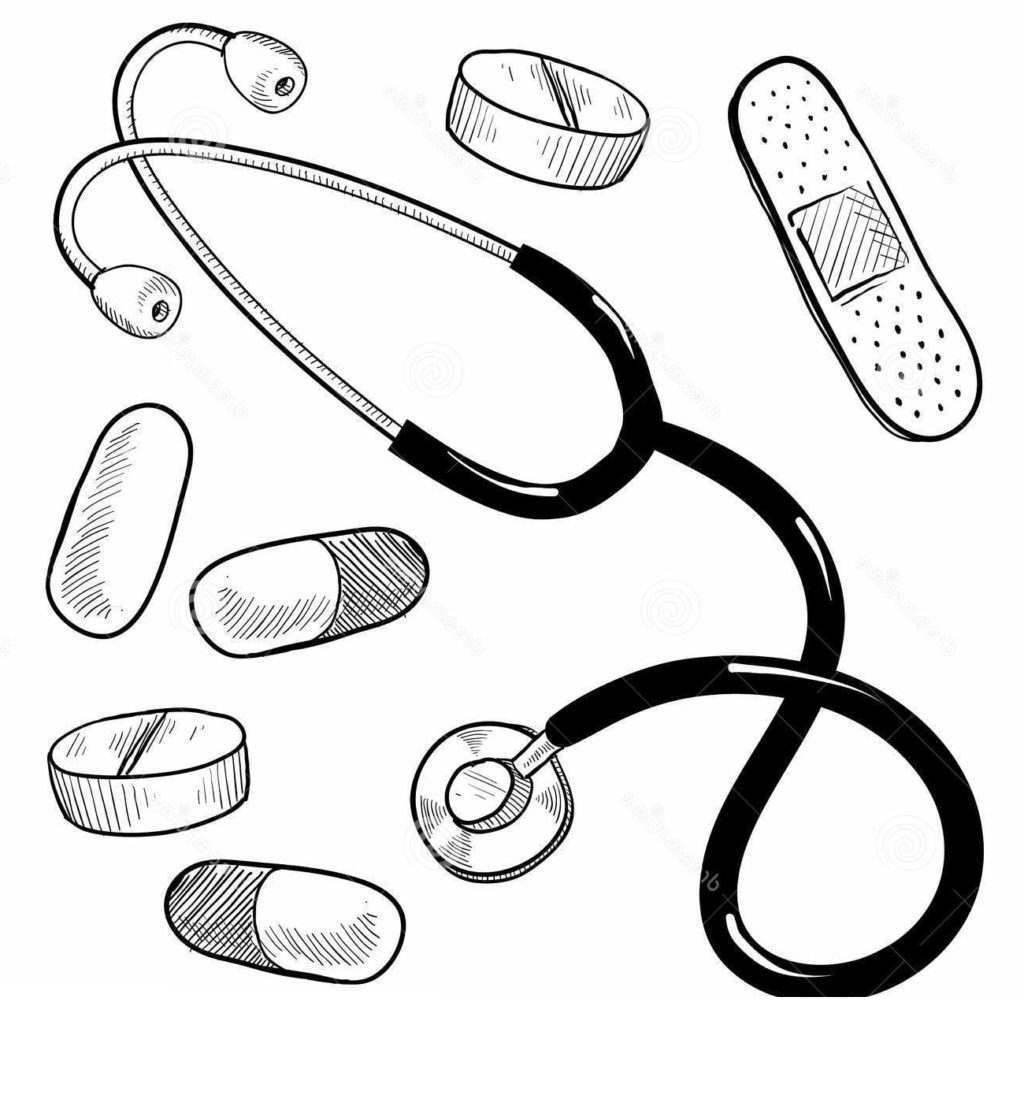 Tools Coloring Pages Selection