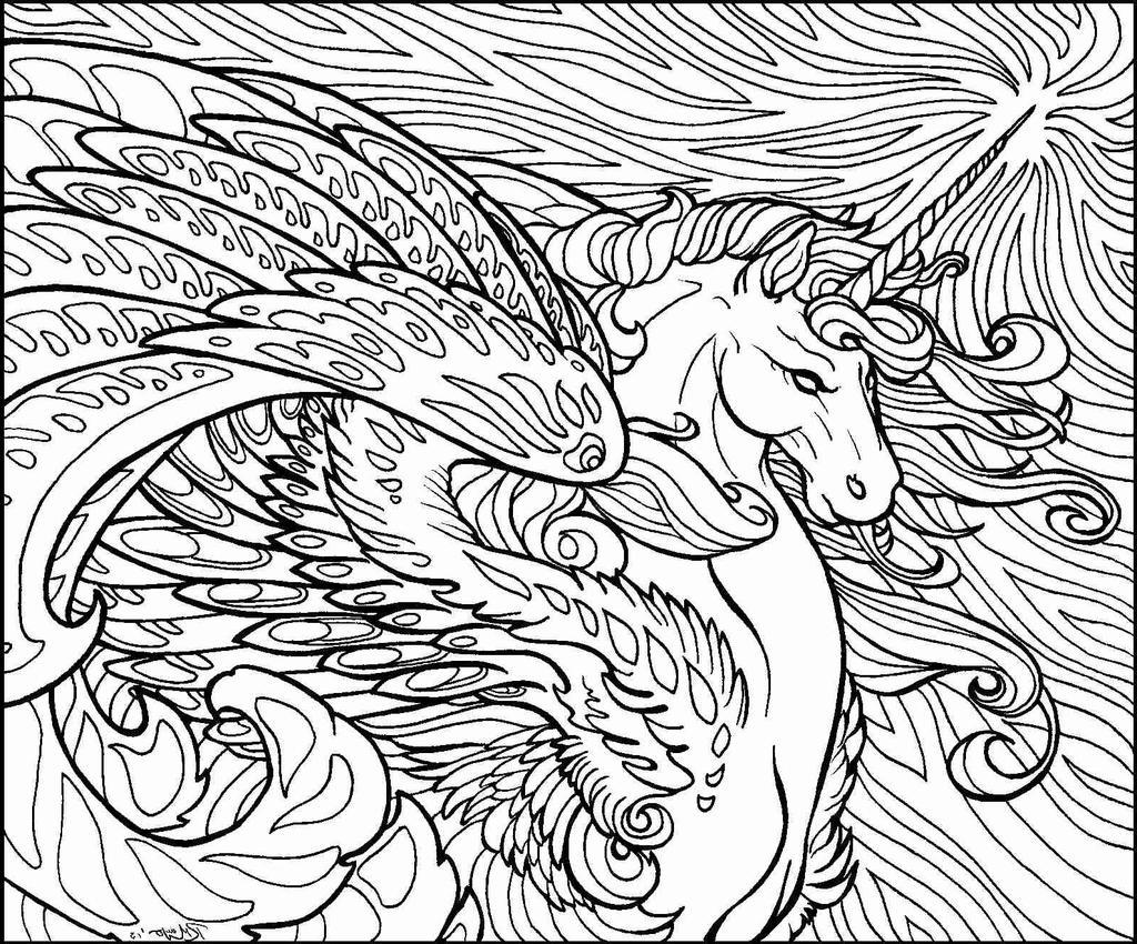 510 Free Unicorn Coloring Pages For Kindergarten  Images