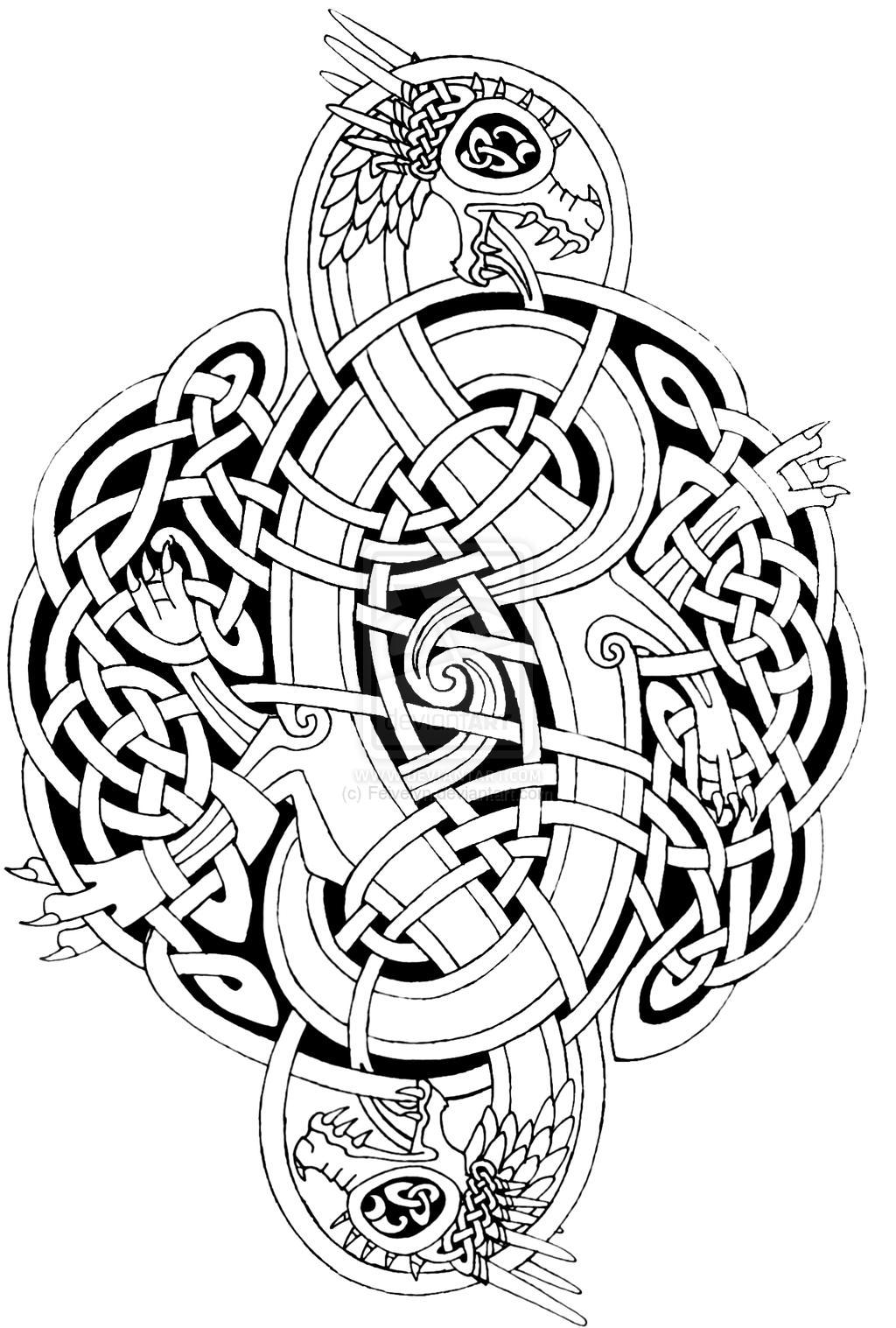 Book Kells Coloring Pages Clipart - Free Printable Coloring ...