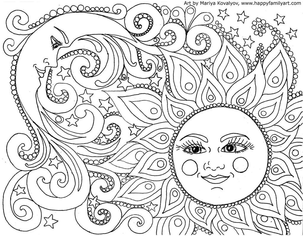 chakra mandala printable coloring pages - photo#6