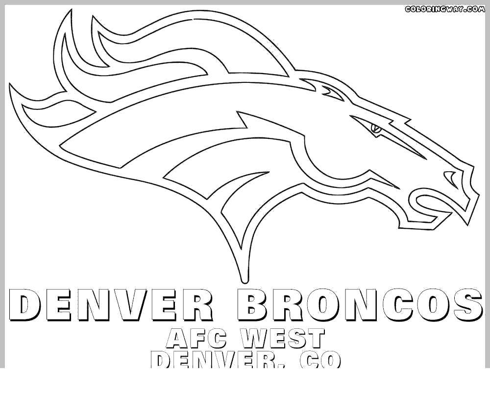 graphic about Denver Broncos Printable Schedule referred to as Denver Broncos Mascot Coloring Web pages Exclusive Clipart - Free of charge