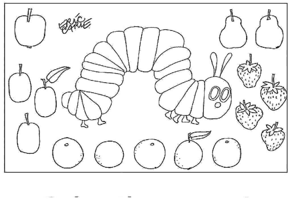 Eric Carle Grouchy Ladybug Coloring