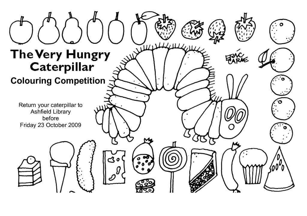 Eric Carle Grouchy Ladybug Coloring Pages Outline - Free ...