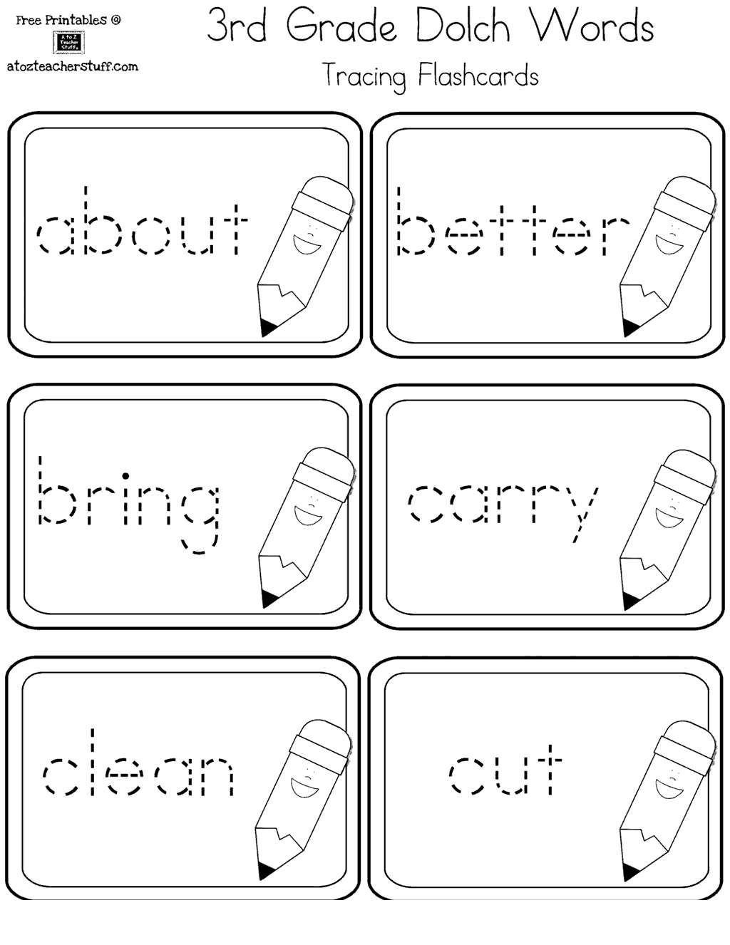 First Grade Sight Word Coloring Pages Lineart Free Printable