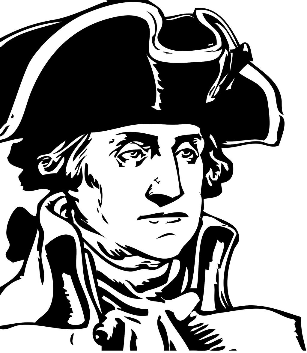 George washington coloring pages ing linear