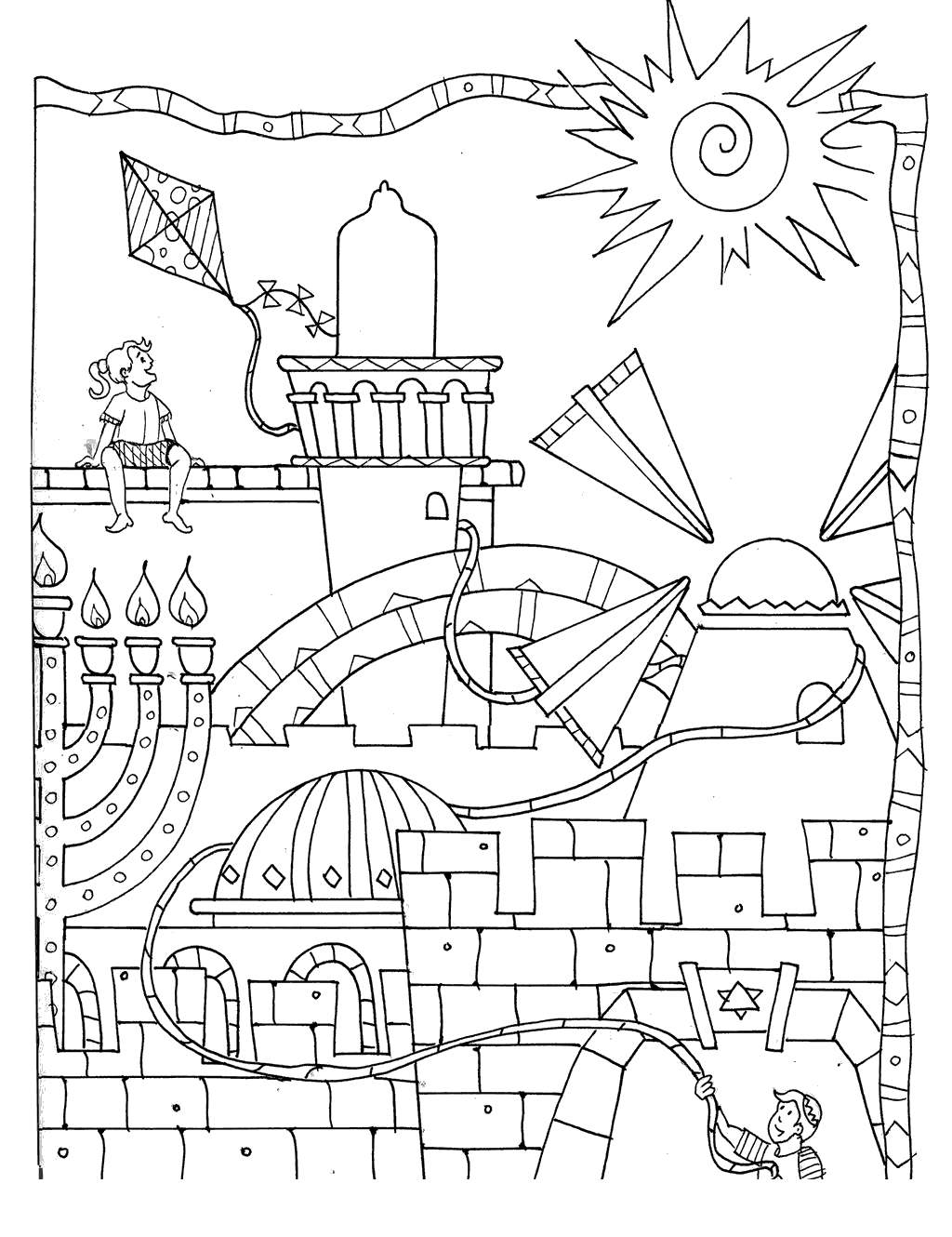 Nehemiah Rebuilding The Wall Coloring Pages Refrence