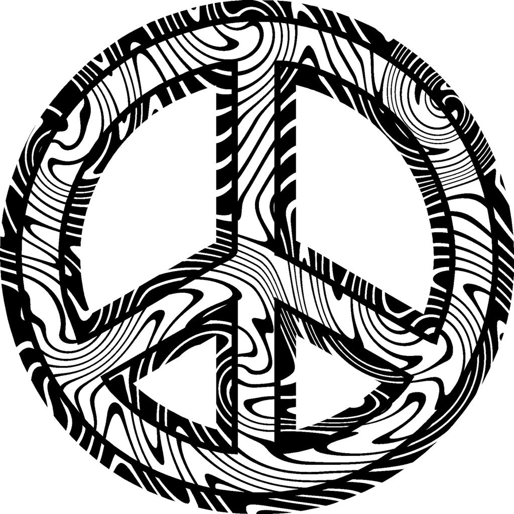 Peace Signs Coloring Pages Bokamosoafrica Org Free Printable