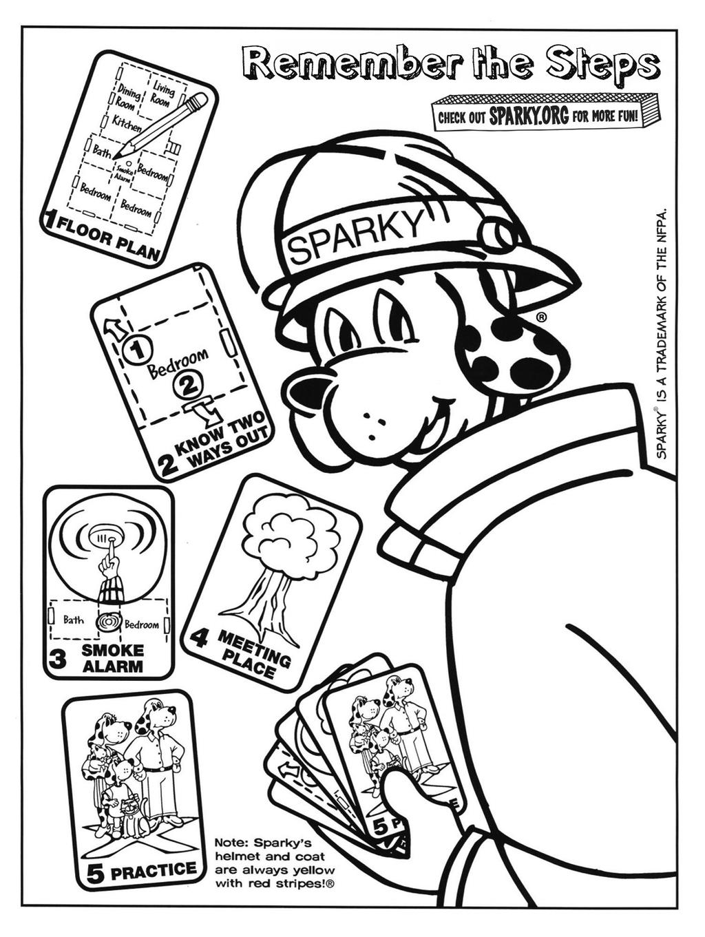 Free Sparky The Fire Dog Coloring Pages Copy Professional printable