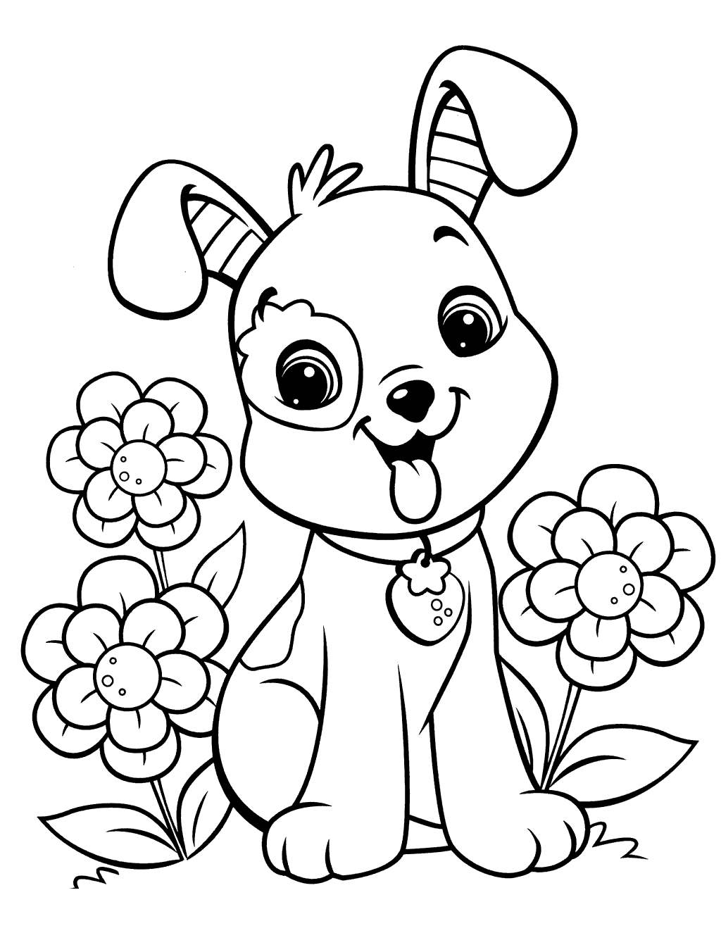 Free Sparky The Fire Dog Coloring Pages Funy Find printable
