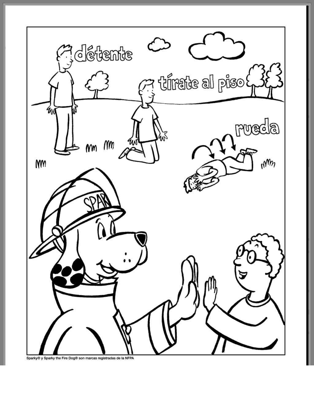 Sparky The Fire Dog Coloring Pages Style And Free Printable