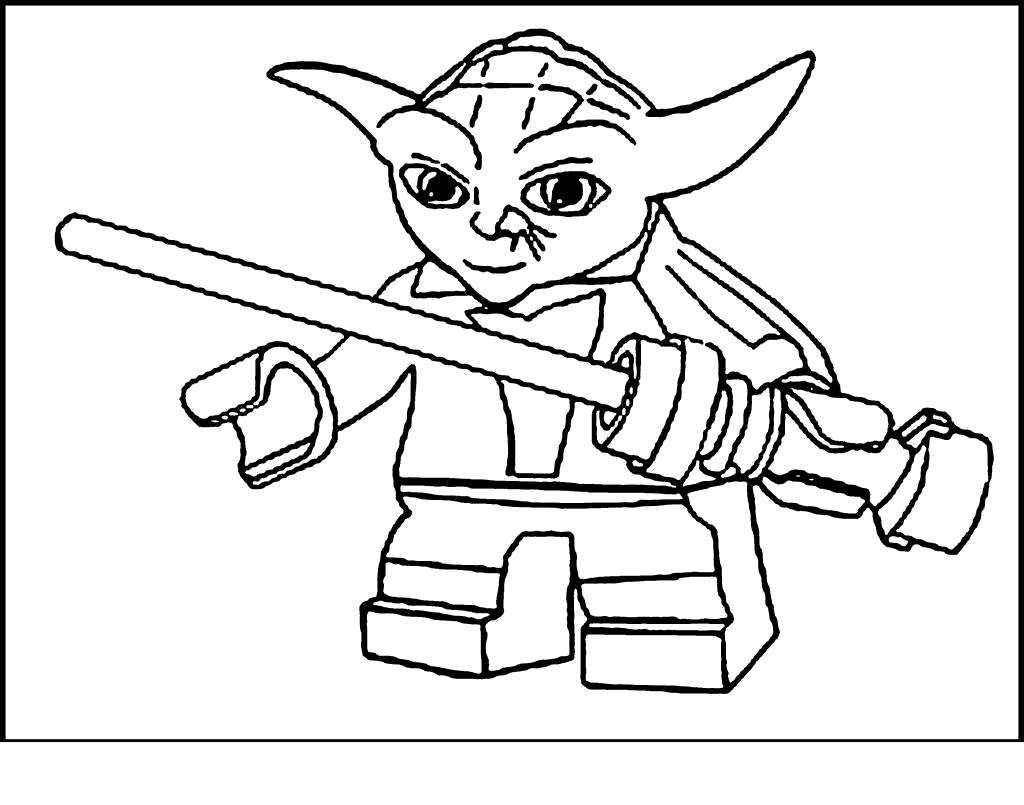 Yoda Head Coloring Pages Revolutionary