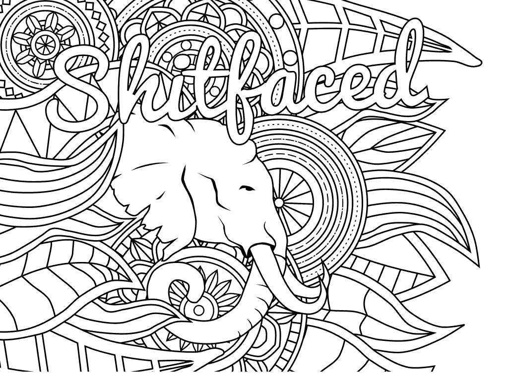 Free Adults Cuss Words Coloring Pages Sheets Inspirationa printable