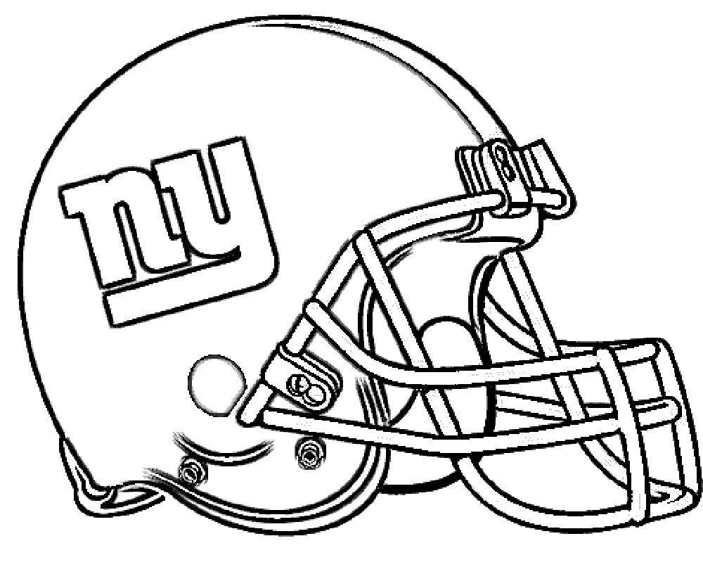 New York Giants Football Coloring