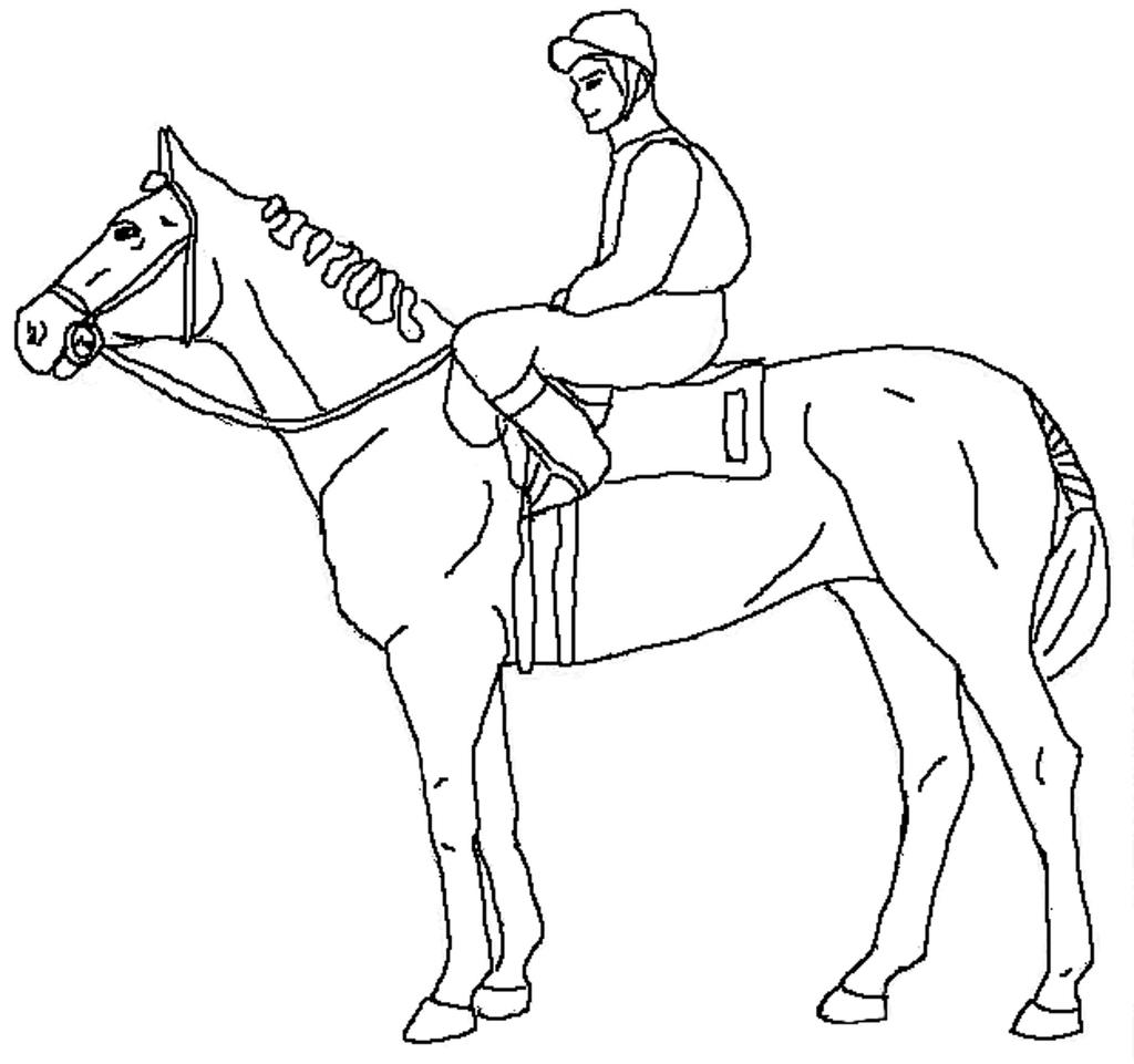 Free Kentucky Derby Coloring Pages