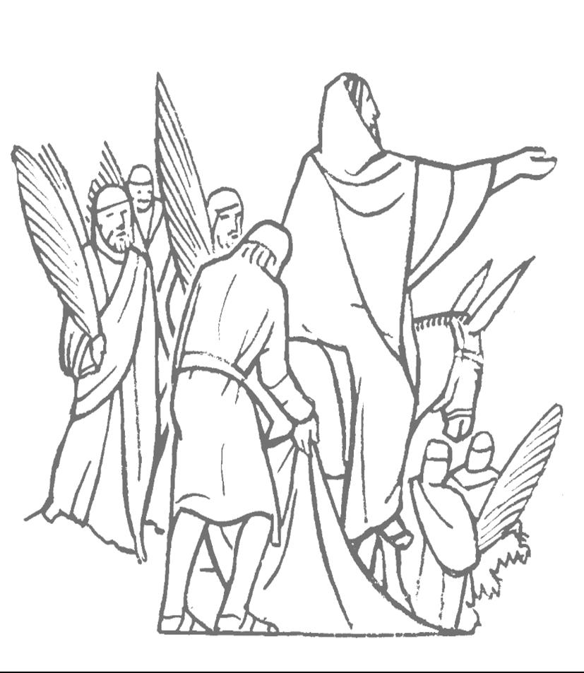 Free Palm Sunday Coloring Pages 232 for Kids - Free Printable ...