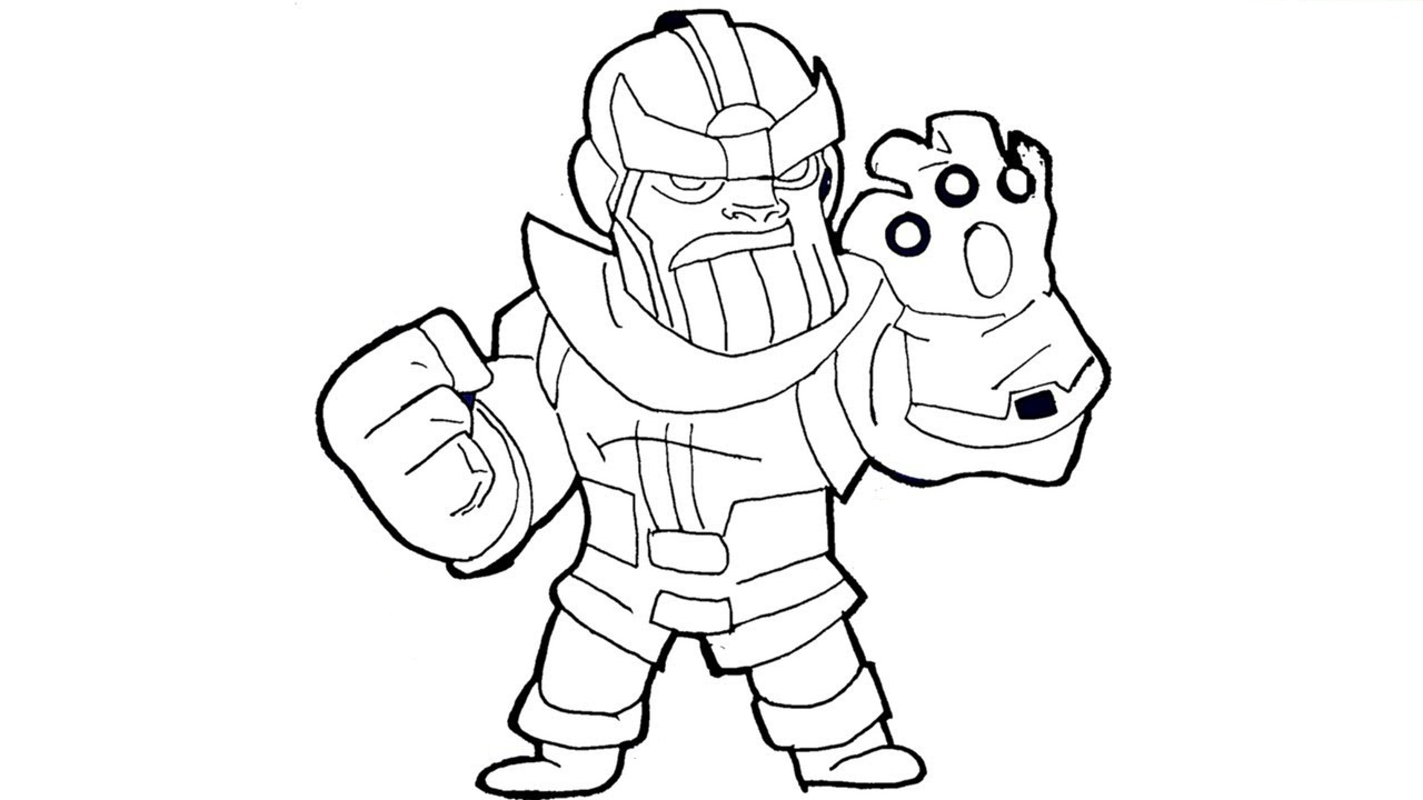 Free Infinity Gauntlet Coloring Pages Sketch printable