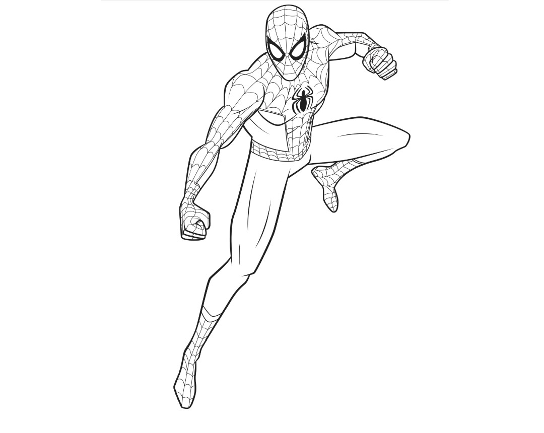 Free Movie Spider Man Into the Spider Verse Coloring Pages printable