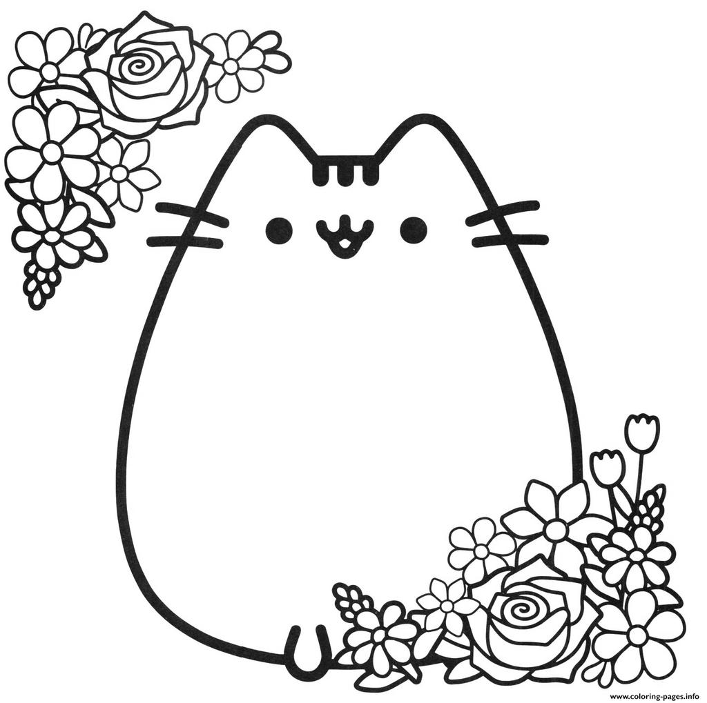 Free Printable Pusheen Cat Coloring Pages 113 Activity printable