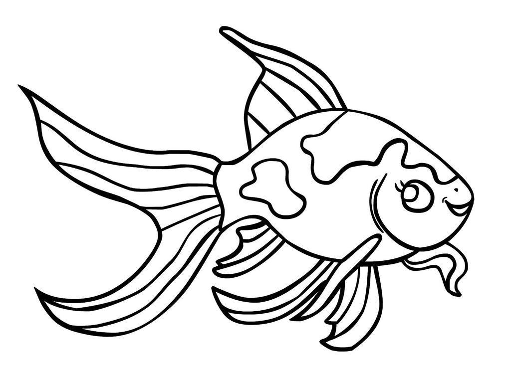 Small Fish Coloring Pages Ing Drawing Free Printable Coloring Pages