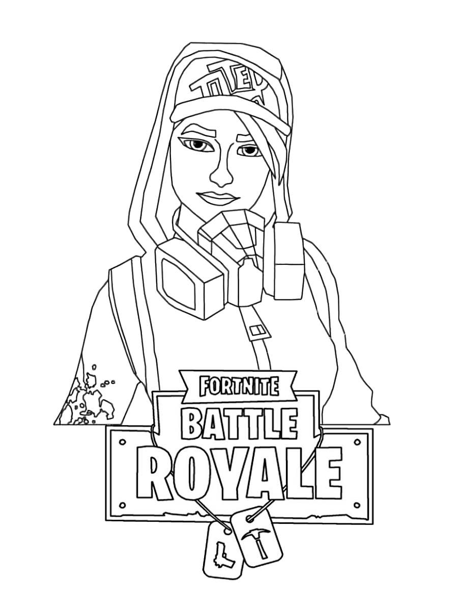 Fortnite Skin Coloring Pages 21 Drawings Free Printable Coloring Pages