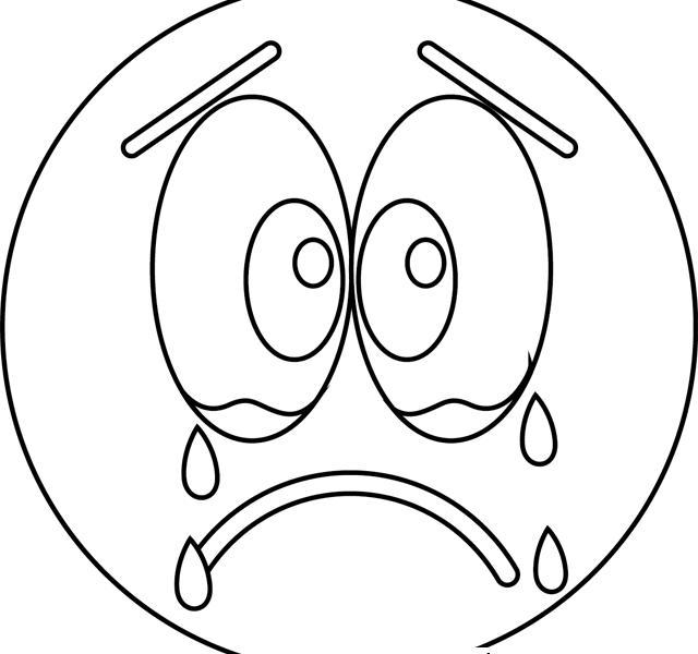 Free Emojis Coloring Pages Sad Book Printable Rhbettercoloring: Printable Coloring Pages Of Emoji At Baymontmadison.com