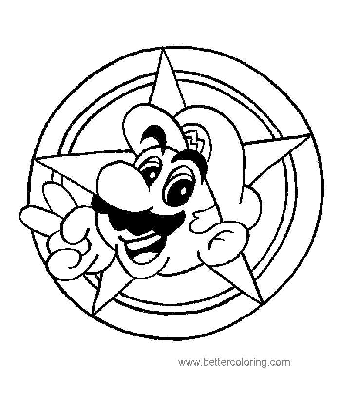 Free Luigi Coloring Pages Pictures