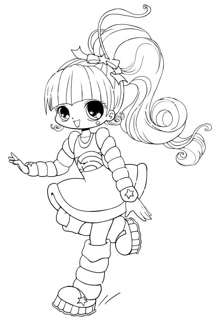 Free Gacha Life Coloring Pages  Linear printable