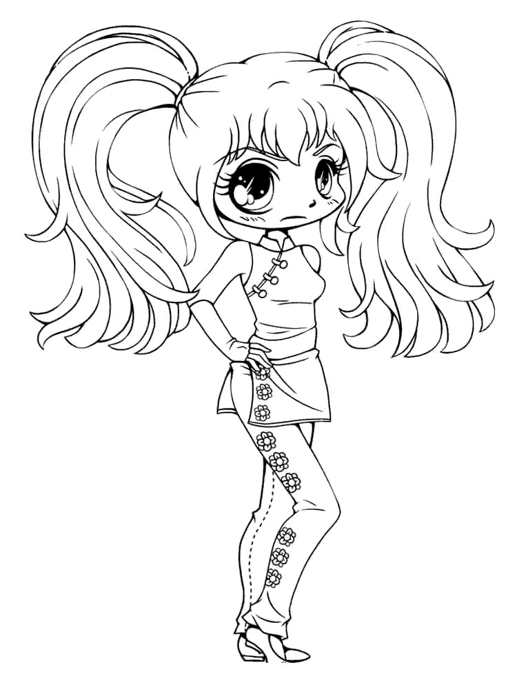 Gacha Life - Free Coloring Pages
