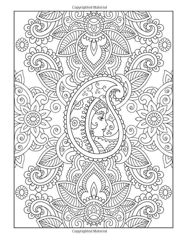 Free New Henna Coloring Pages Haven for Boys printable