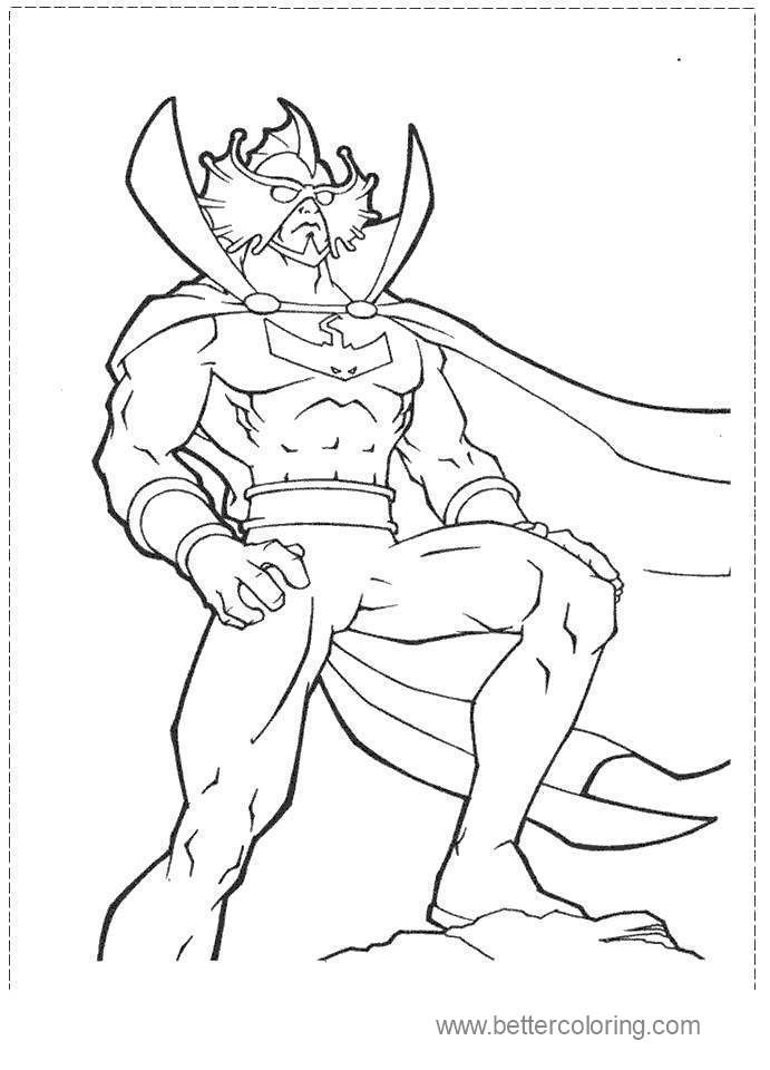 Printable Aquaman Coloring Pages Images 41 Free