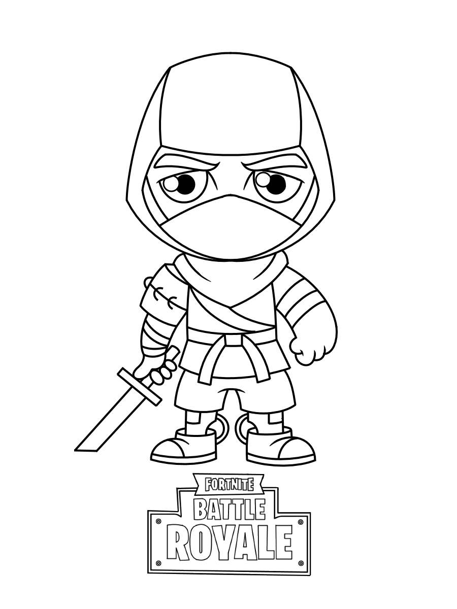 Fortnite Coloring Pages Pickaxe