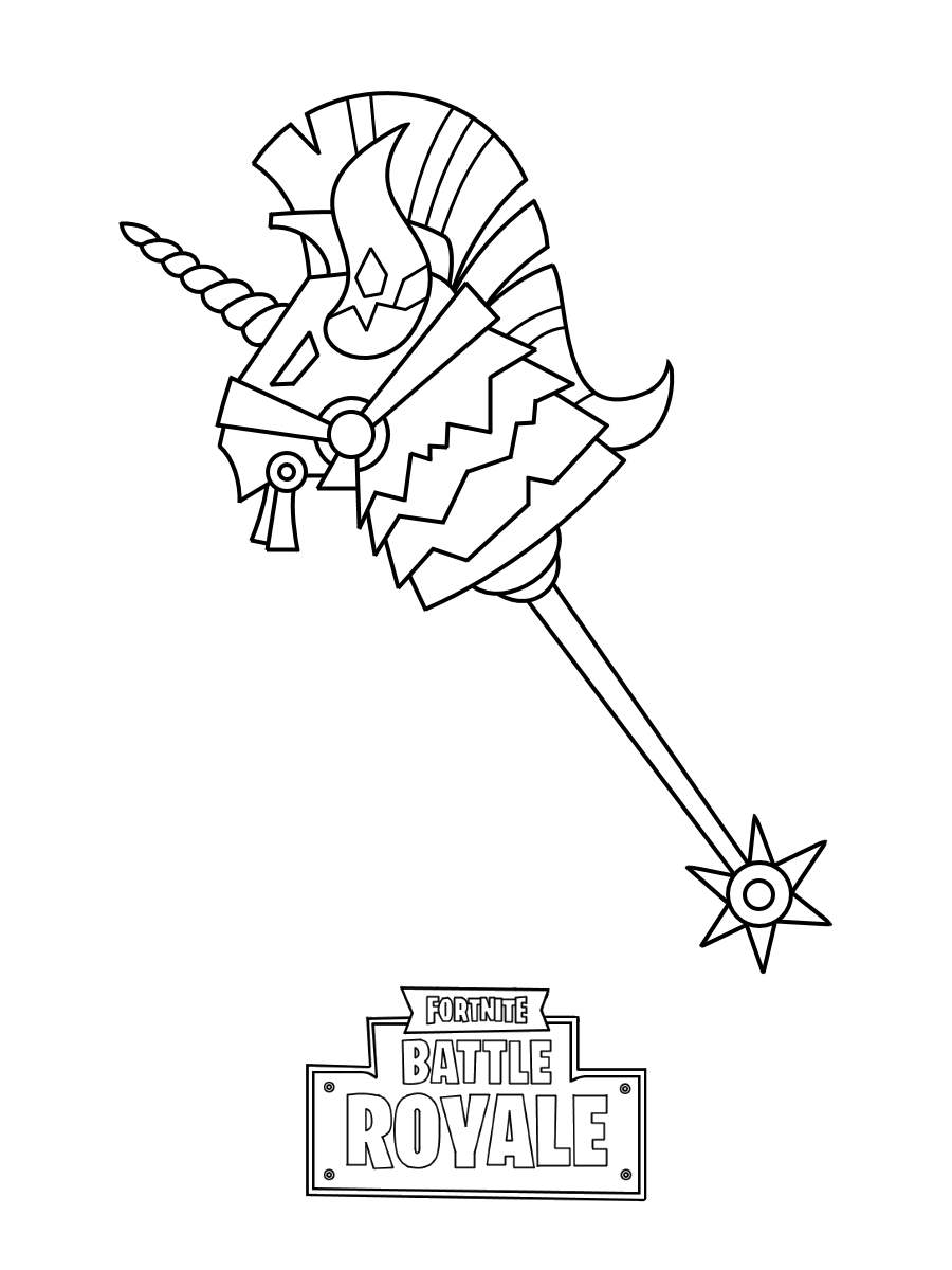 Printable Fortnite Skin Coloring Pages 76 for Adults - Free