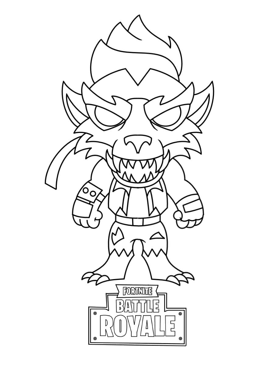Printable Fortnite Skin Coloring Pages 83 Pictures Free