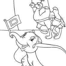 Free Dumbo Coloring Pages  175 printable