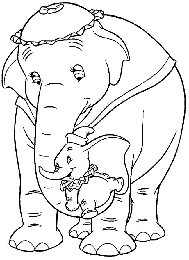 Free Dumbo Coloring Pages Pictures 29 printable