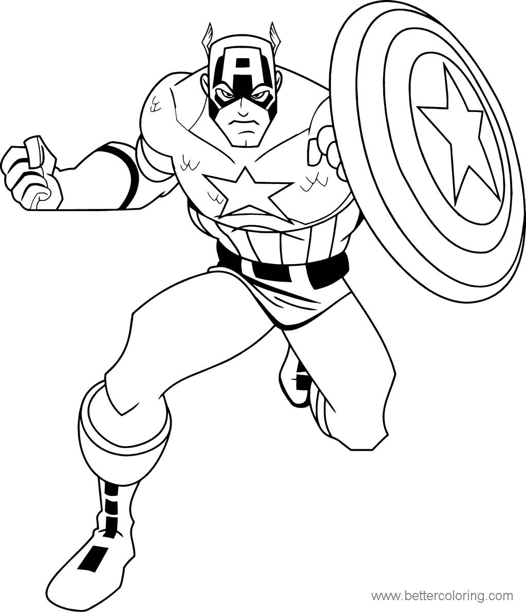 30 FREE MARVEL COLORING PAGES ONLINE PRINTABLE PDF ...