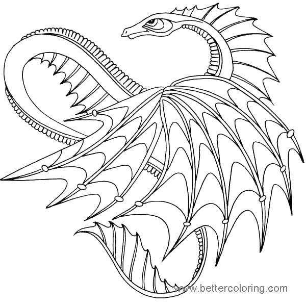 How To Train Your Dragon Coloring Pages Images 213 - Free ...