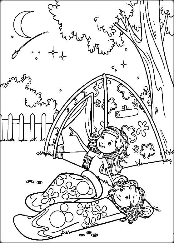 Free Camping Coloring Pages For Kids Vanda 295 printable