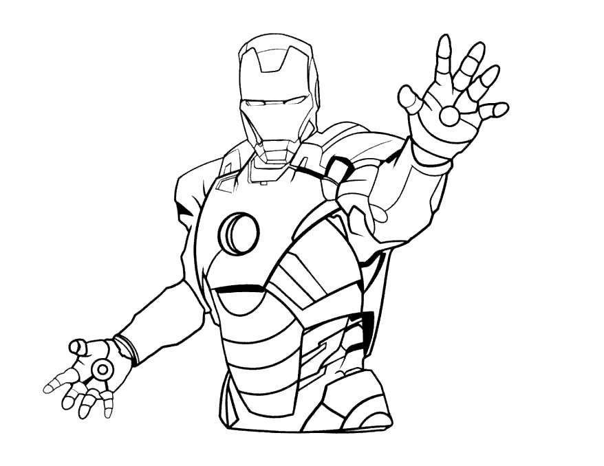 Iron Spider Coloring Pages Ironman - Free Printable ...