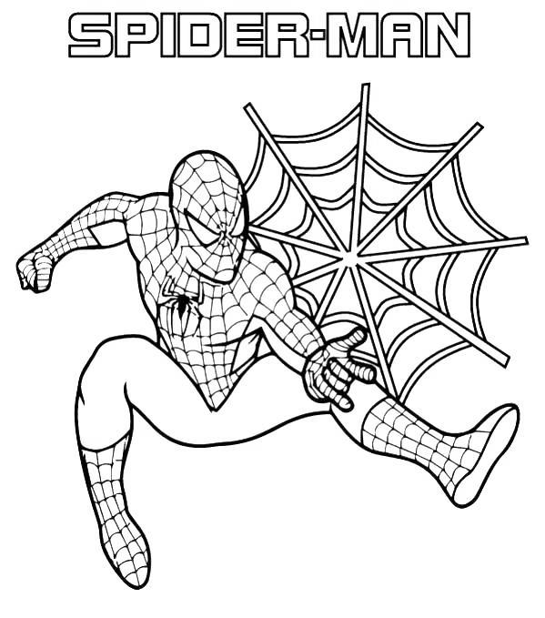 Iron Spider Coloring Pages Spiderman for Boys - Free ...