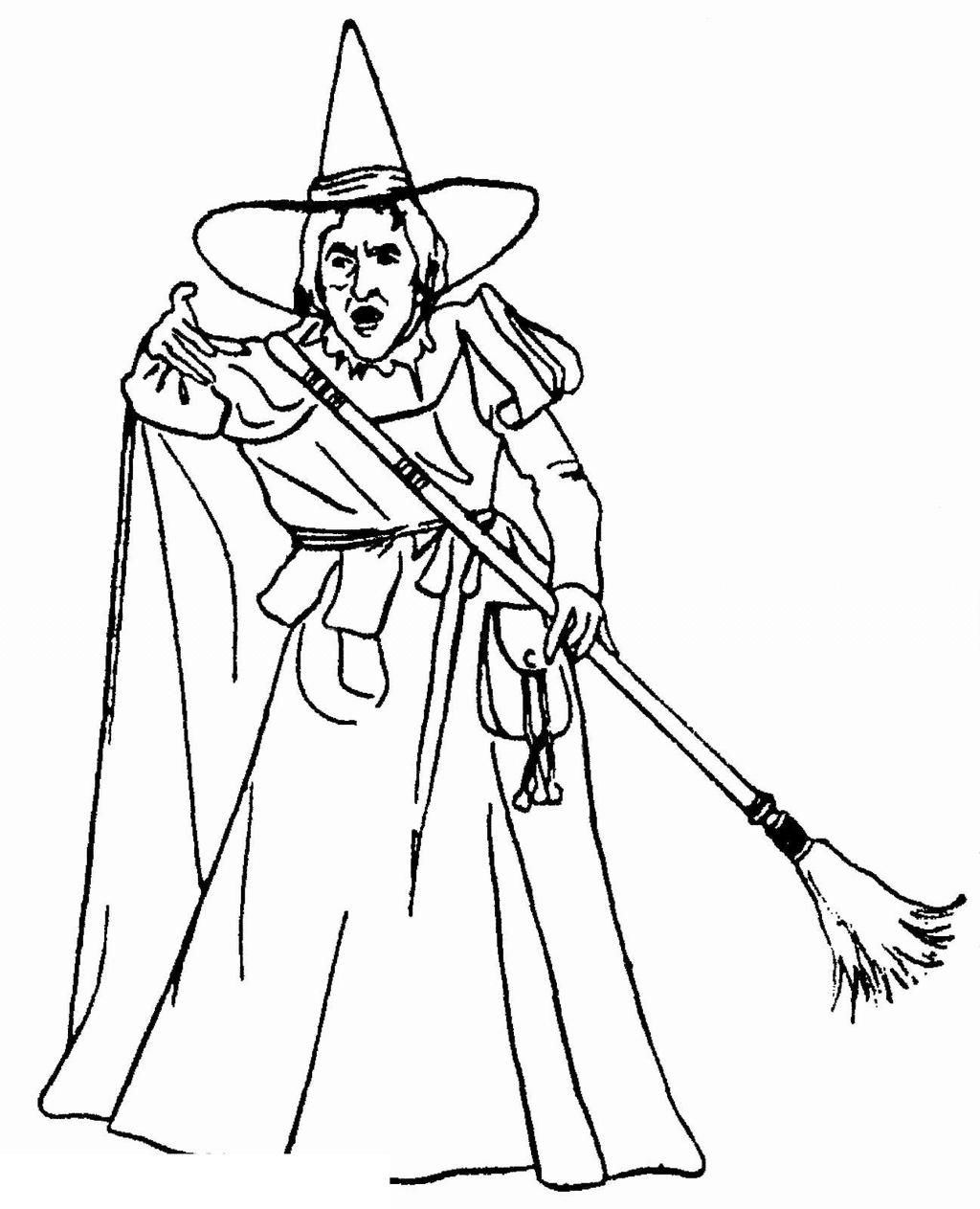 Free Wizard Of Oz Coloring Pages Line Drawing printable