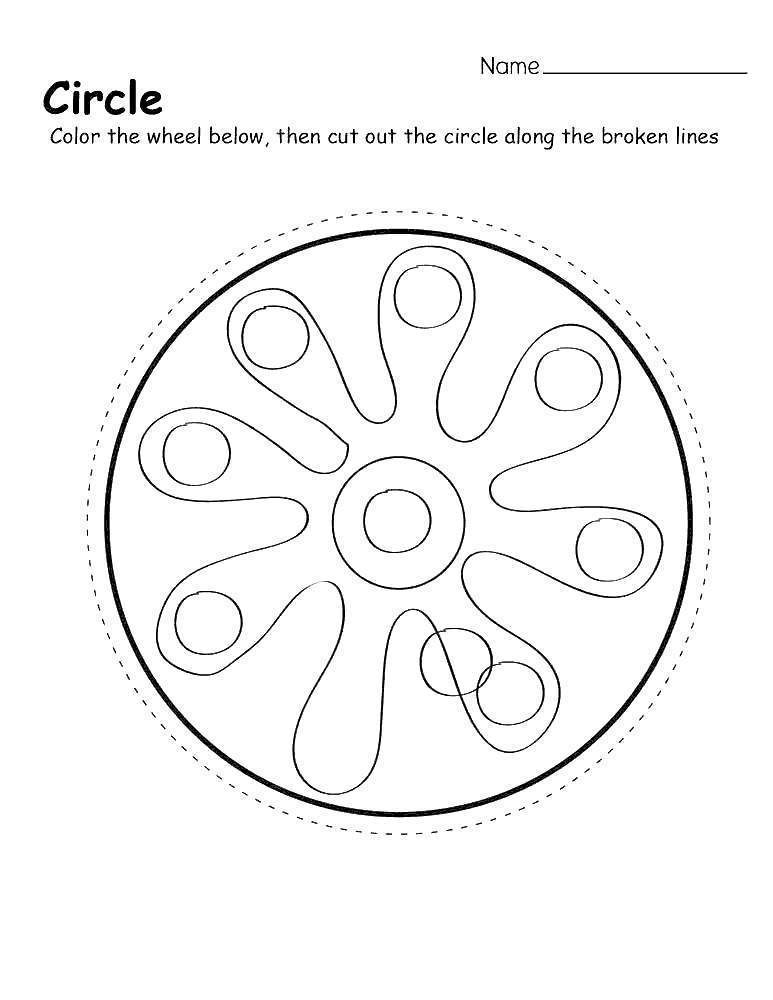 Free Cookie Shapes Coloring Pages printable