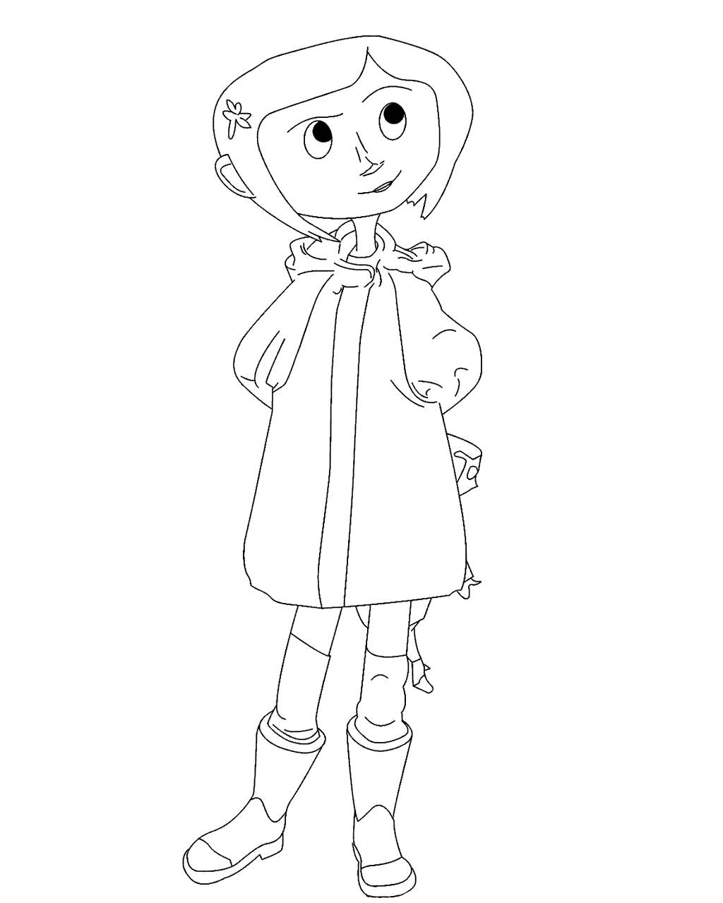 Free Printable Coraline Coloring Pages printable