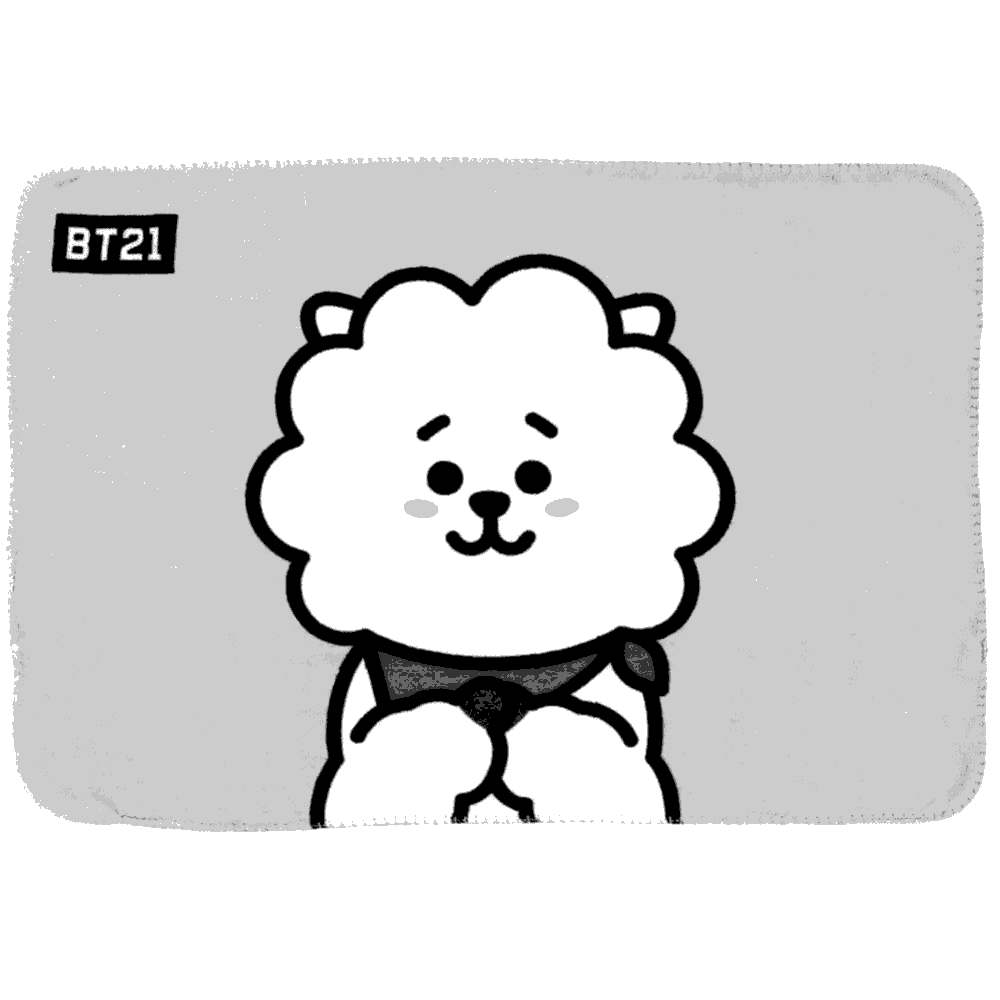 Free Bt21 Coloring Pages for Kids printable