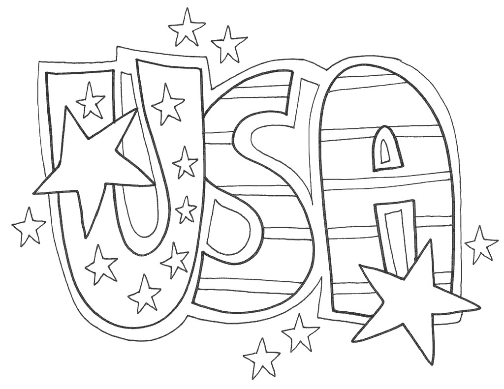 USA Constitution Coloring Pages