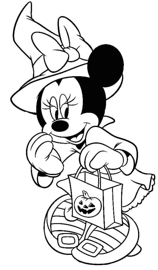 Free Disney Halloween Coloring Pages Halloween Gift printable