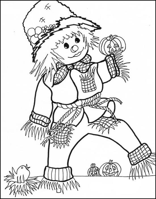 Halloween November Coloring Pages Free Printable
